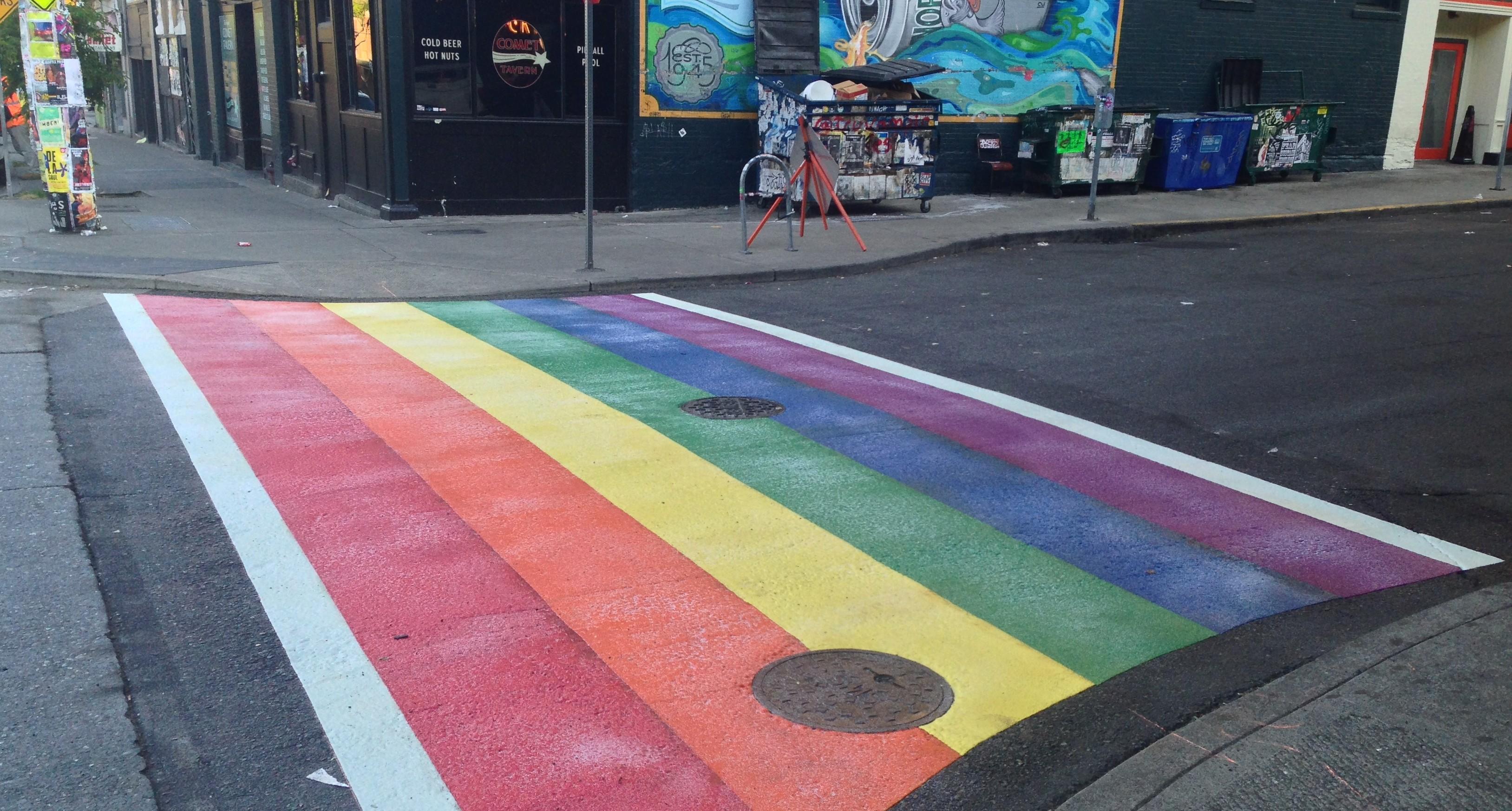 Capitol Hill Crosswalk