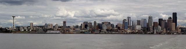 Sailing away Seattle